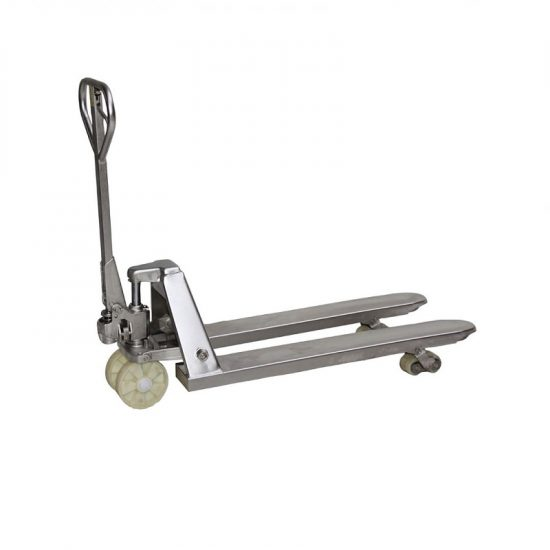 Nerezový paletový vozík NR
